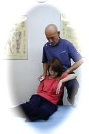 PRTによる背中の治療