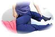 PRTによる腰の治療