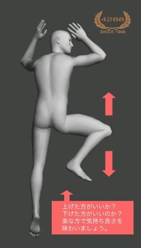 操体法/かえる足